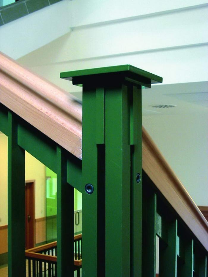 Lépcsőkorlát részlet