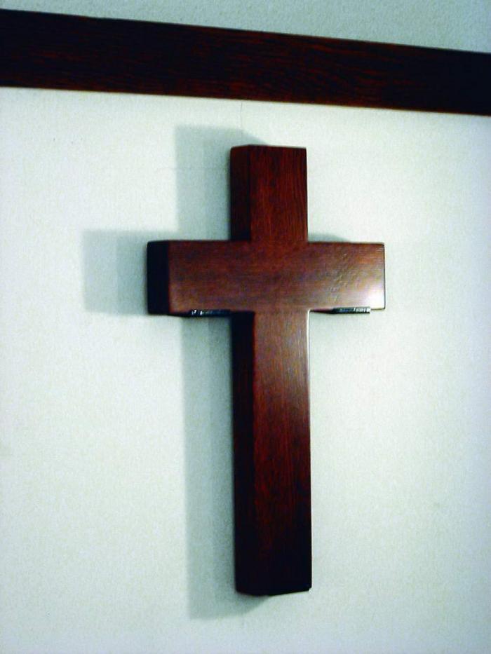 Kereszt a kápolnában