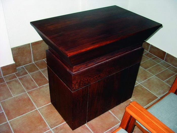 Oltár a kápolnában